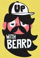 Pintachan is an International Graphic and Character illustrator from Spain. His work can be described as Retro, naïve, childish, pop and whimsical. Beard Art, Beard No Mustache, Art Pictures, Graphic Illustration, Stationery, Greeting Cards, Cool Stuff, Mike Holland, Vector Characters