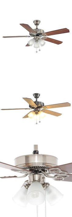 Ceiling Fans 176937: Montgomery 42 In. Indoor Brushed Nickel Ceiling Fan  With Light  U003e BUY IT NOW ONLY: $54.88 On EBay! | Ceiling Fans 176937 |  Pinterest ...