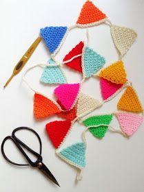 Wimke: Pinterest DIY gehaakte slinger