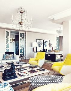 The Peak of Tres Chic: Color Crush: Canary Yellow