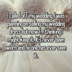 Wedding hookup confessions
