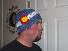 Colorado Flag Hat  Colorado  Colorado Proud by BitchinBagsbyBenita, $30.00