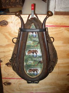 Horse Hames and Collar Art Wall Hanging by SandridgeAntiques, $125.00
