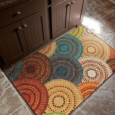 Carolina Weavers Aria Collection Gomaz Multi Accent Rug