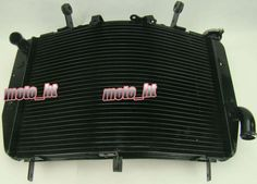 139.00$  Know more  - Motorcycle For Yamaha Cooler Radiator YZF R6 2006 2007 2008 2009 2010 Aluminum High Quality Black