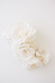 ROSELLE | Floral wedding headpiece | Percy Handmade
