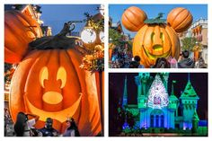 There are 7 Great Reasons to Go to Disneyland at Halloween here - but the most important one is the too-cute decorations.