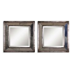 Shop Uttermost  13555 B Davion Squares Wall Mirrors (Set of 2) at The Mine. Browse our wall mirrors, all with free shipping and best price guaranteed.