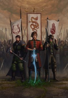 The Wheel of Time - Perrin, Rand, and Mat