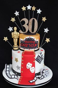 Hollywood cake by cake by kim, via Flickr