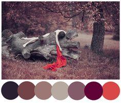 "A cold fall palette taken from ""self"" by DontSayYes on deviantArt. http://fav.me/d7xw2jj"