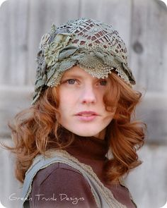 Dye lace #millinery #judithm #hats