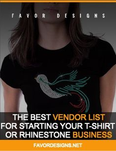 The Best Vendor List For Starting Your by FavorDesignsBoutique