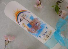 Taufkerzen - Taufkerze Arche Noah - ein Designerstück von Lenz-Kerzen bei DaWanda