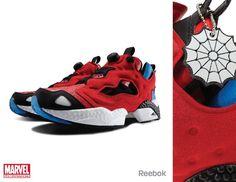 reebok x marvel spider man Insta Pump Fury d843626e7