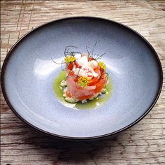 Gravlax (cured salmon), kohlrabi, fennel and buttermilk - by @niels.vroman ⭐️ share your culinary passion on Cookniche.com. Create a page for free and publish your photos, recipes, blogs, videos... Cookniche is for all food lovers.