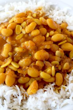 Israeli rice and beans is a very healthy incredibly flavorful!  It is great as a side or on it's own as a meal.
