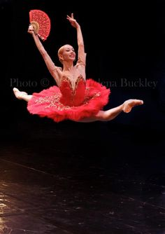 Iana Salenko in Don Quixote by Maria-Helena Buckley.