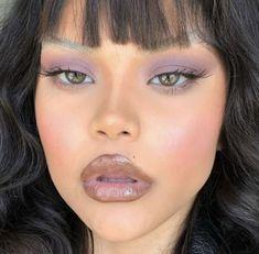 she's ghetto, but has a runway quality Cool Makeup Looks, Creative Makeup Looks, Cute Makeup, Glam Makeup, Pretty Makeup, Makeup Inspo, Makeup Inspiration, Beauty Makeup, Eye Makeup Art