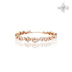 Shop Baguette Diamond Bangle @ mettlle.com