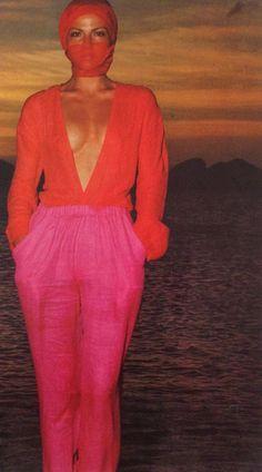 Laura Alvarez para Vogue Italia – Venezuela, 1976