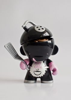 Custom Munny by Emma Cook, via Behance