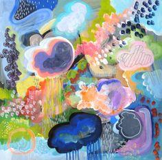 "Saatchi Online Artist: Mary Robertson; Acrylic 2013 Painting ""Flavor Symmetry"""