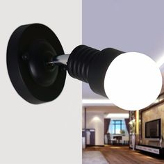 Newest Modern AC 100-240V Wall Sconces Lamp Minimalist Aisle Bed Balcony Cafe Home Mini Wall Light D-  Item Type: Wall Lamps  Voltage: 220V,90-260V  Certification: CE,CCC  Technics: Painted  Power Source: AC  Application: Bed Room  Shade Type: Shadeless  Material: Alloy  Body Color: White,Black  Is Bulbs Included: No  Installation Type: Wall Mounted  Style: Modern  Shade Direction: Down  Model Number: MT001  Usage: Emergency  Lighting Area: 5-10square meters  Features: wall lamp  Is…