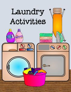Laundry Activities is a combination of three tasks to help students learn more about the steps taken to do the laundry and the items used for the task.Included is a 8 card sequence activity, file folder matching, and description cards to match with the correct objects. (look at preview to see more detail)This product works well for life skill task and and centers.*****************************************************************************Earn TPT credits to help with other purchases by…