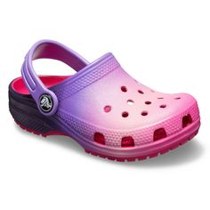 26ab63e90 Crocs Classic Ombre Kids  Clogs