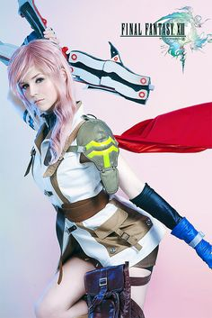 Cosplay, done right! #cosplay #FFXIII #LIghtning
