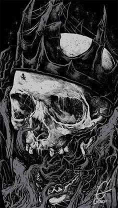 skeleton watches for men leather band Arte Horror, Horror Art, Skull Artwork, Metal Artwork, Dark Fantasy Art, Grim Reaper Art, Skeleton Art, Skeleton Watches, Satanic Art