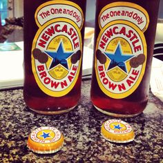 Newcastle Brown Ale - English beer
