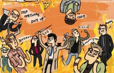 This is like all of supernatural in one picture
