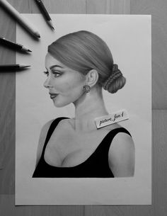 Well, I never watched any movie or series with her but I think she's really pretty. 😅 And I think i messed up her ear. 🙈  SOCIAL MEDIA:   Instagram/Facebook/Youtube: picture_fan1   #sarahhyland #art #drawing #inspiration #artist #portrait #blackandwhite #pencil #panpastel #actress #youtube #instagram #facebook