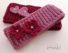 Mommy ear warmer crochet pattern - Headband crochet pattern - Pattern No. 242