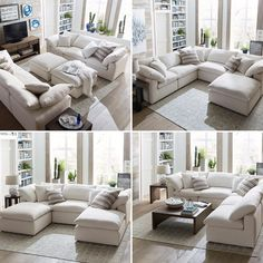 Mix it up! Your sectional, your style. See how Bassett's Envelop sectional can fit however you like your home.