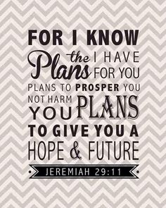 From Jeremiah 29