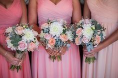 Alesha`s girls in their mix`n match bridesmaid dresses looked so stunning! Dresses are all from FHFH and colors are dusty rose, soft pink and English rose.    Alesha`s review: Hi! I just wanted to say thank you thank you thank you for my beautiful bridesmaid dresses!! They were absolutely perfect. At first I was a little hesitant ordering online, however with the amazing service and quick delivery I could not have been happier! The quality of the dresses were incredible, and the colours were…
