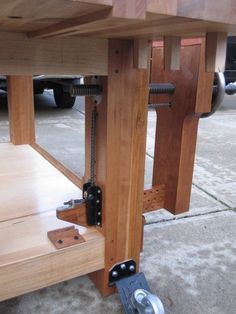 Image result for chain drive vise
