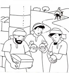 parable of the faithful servant activities for kids