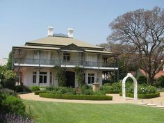 For everyone who is interested in architecture, Parktown is an exceptional area to explore. It is the oldest and most elite district of the city and you will find stately buildings that date back to. Old Victorian Homes, Victorian Buildings, Johannesburg City, Colonial Mansion, Red Brick Walls, House Built, South Of France, Beautiful Buildings, Walking Tour