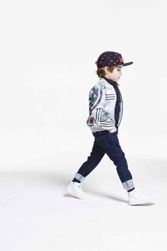 Kenzo kids grey marl tiger print and embroidered sweat jacket Young Fashion, Boy Fashion, Sport Fashion, Kids Labels, Kids Winter Fashion, Kenzo Kids, Dapper Men, Baby Kids Clothes, Dope Outfits