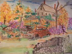 Peaceful Sleep Watercolor Painting #Art #Sale
