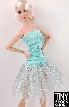 Barbie Glittering Lace Fairy Dress