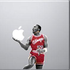 Michael Jordan MacBook Decal on http://www.drlima.net