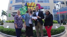 VERY proud to present Joe DiMaggio Children's Hospital with a check on behalf of Broward College Dr Rolando Garcia Broward College South Campus and the Humanities Department Broward College South Campus Humanities faculty and students. This past April, we held a student and professional art auction/fundraiser - art inspired by actual artwork of children who are patients at Joe DiMaggio Children's Hospital. A moving tribute. We hope you will be part of next year's 3rd annual ‪#‎ArtCause‬…