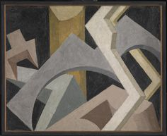 Jessica Dismorr Abstract Composition c.1915