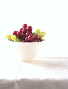 Fun Fact: In a small human study of colon cancer patients, those who ate 2 1/2 cups of grapes per day for two weeks were able to inhibit certain genes that promote tumor growth in the colon.  This benefit was observed in the healthy tissue of the subjects' colons, not the cancerous, indicating a potential role for grapes in maintaining a healthy colon. Try in-season Grapes from California!