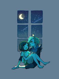 Gladion x Moon